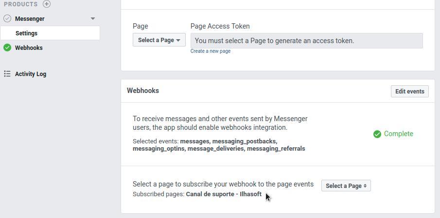 Facebook App Webhooks